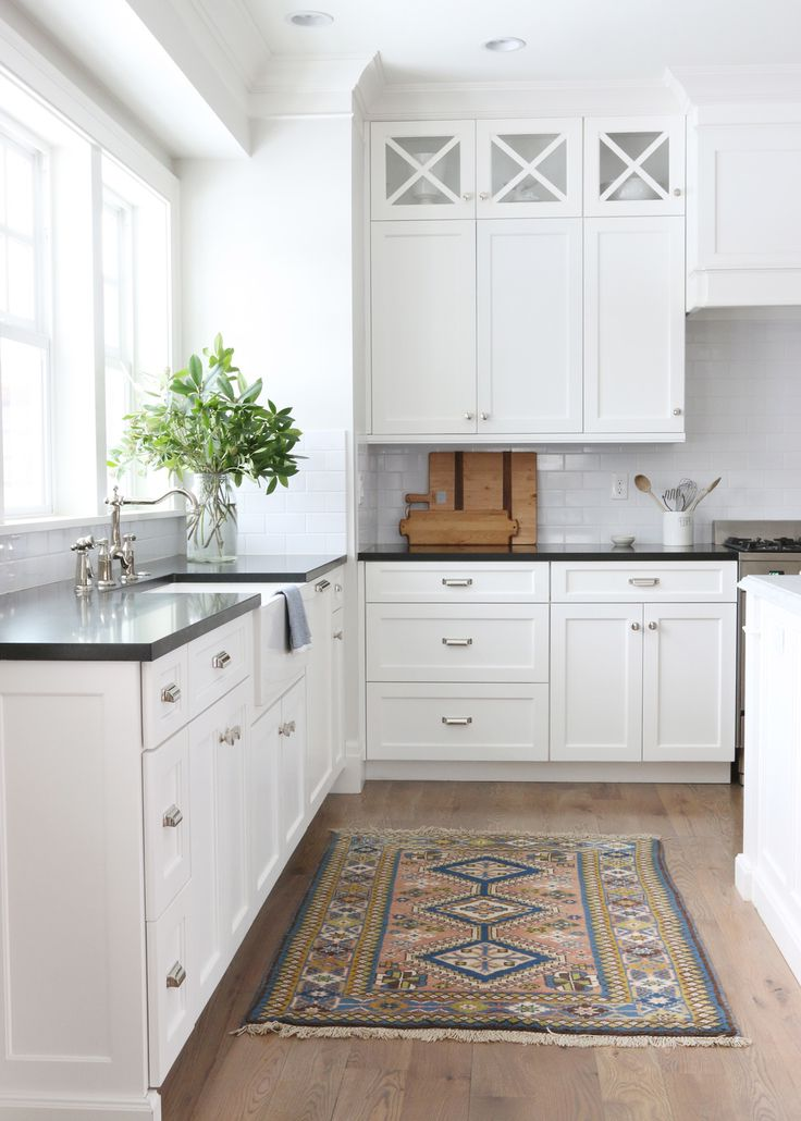 White Cabinets With Dark Granite Kitchen Remodels With White Cabinets Pictures | Roy Home