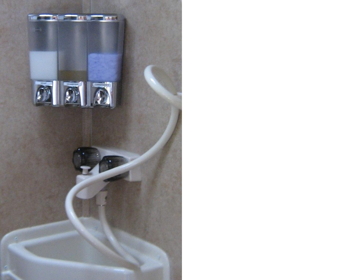 Soap And Shampoo Dispensers For Showers List Your Mods R Pod Owners Forum Page 2