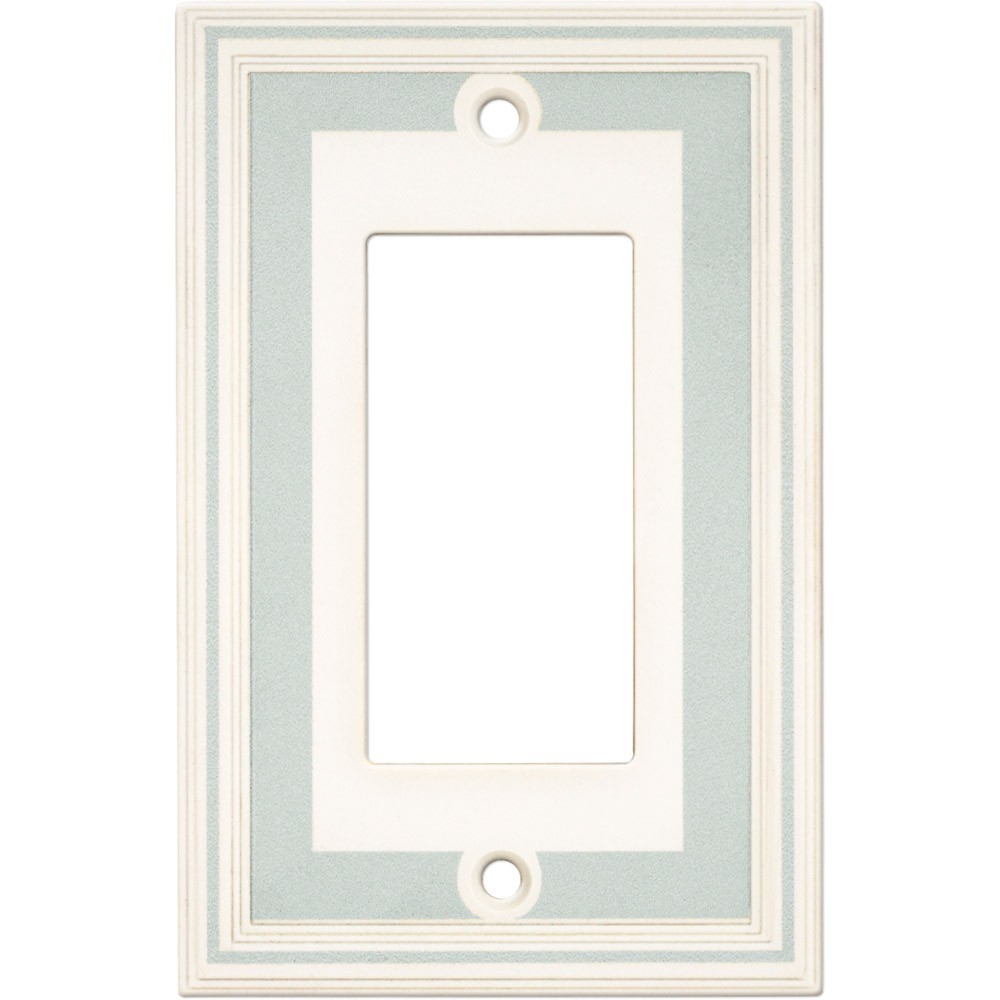 Cool Blue Paint Single Gfci Color Accents Wall Plate Cool Blue