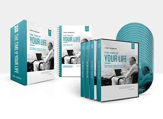 Rapid Planning Method, Life Planning with Fulfilling Results \u2013 Tony - tony robbins disc