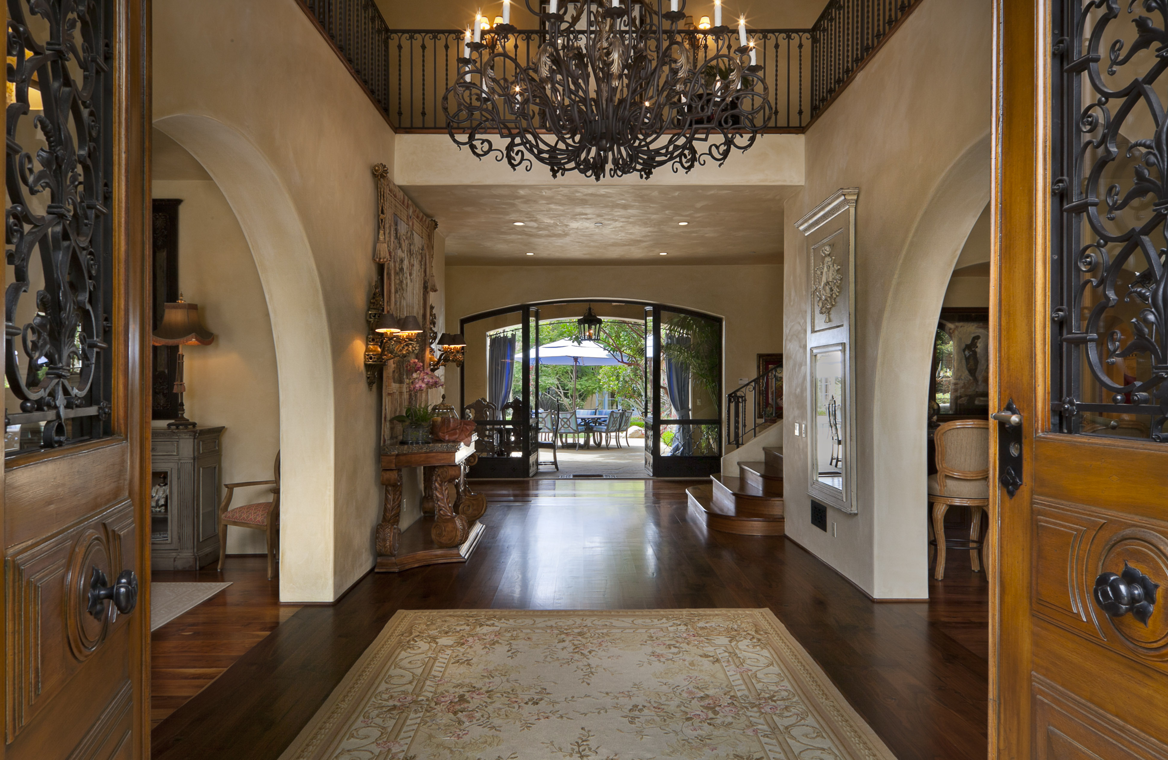 Beautiful Home Entrances February 2012 Montecito Real Estate