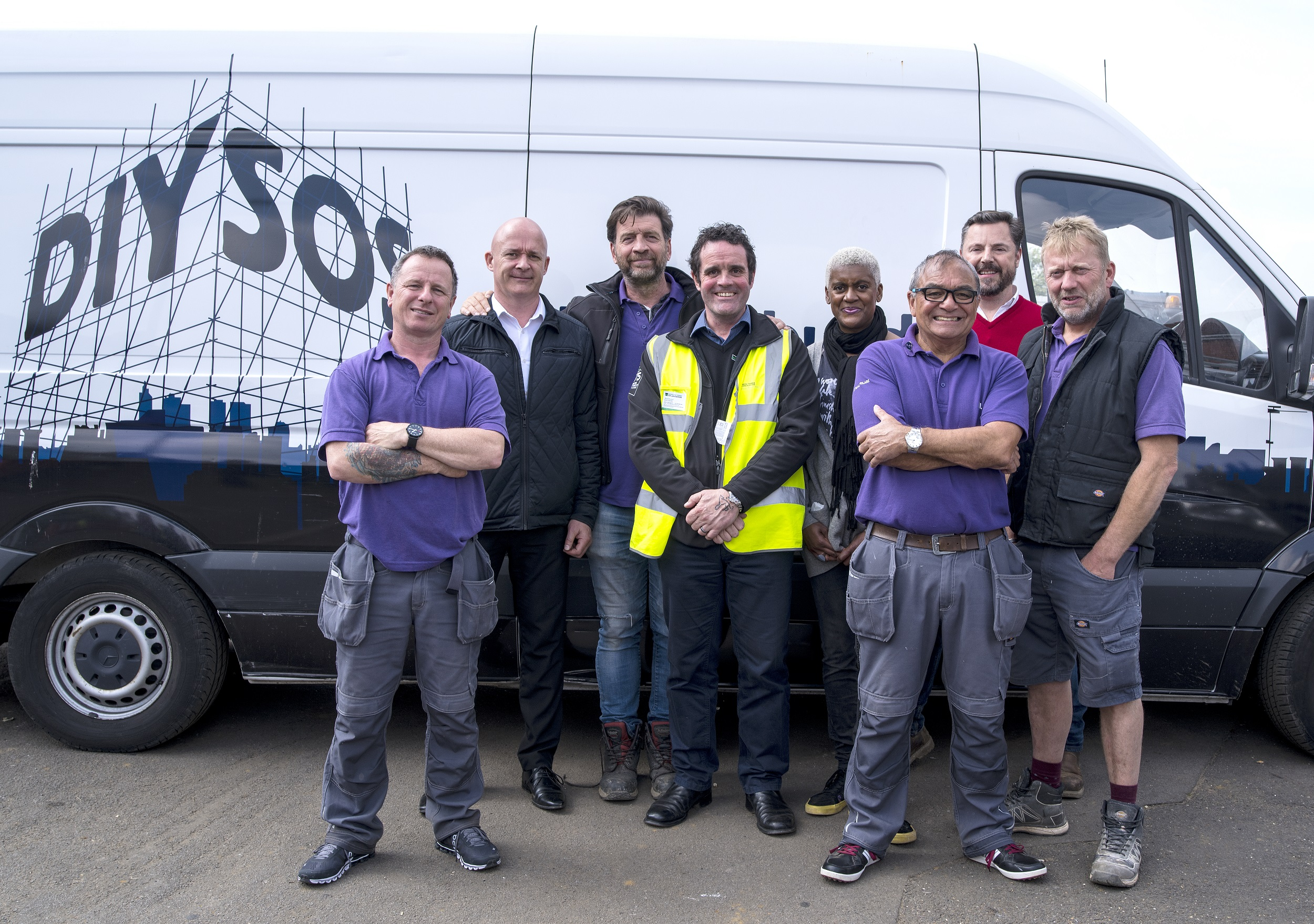 Diy Sos Kitchen Design Howarth Supports Diy Sos The Big Build In Scunthorpe With First