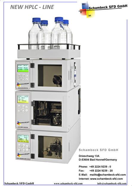 Schambeck SFD\u0027s Catalog A new System for HPLC - - High Performance
