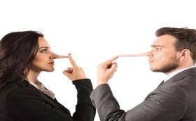 La mentira hacia la mujer