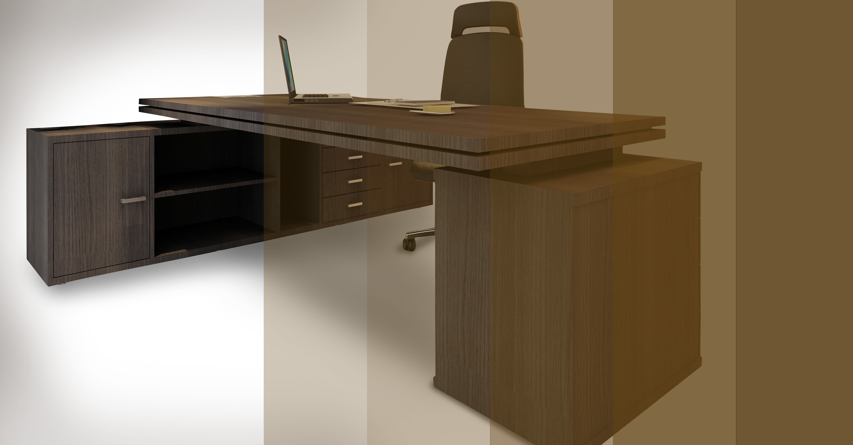 Mesa Escritorio En L Mesa Executiva Rs Design