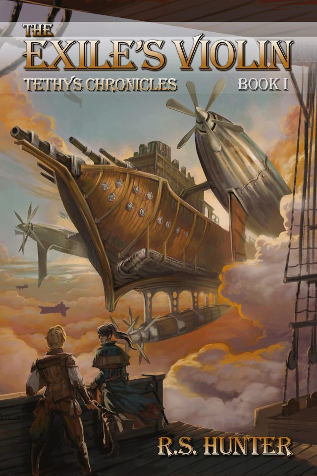 Novel Books About Family Official Cover Art For Steampunk Novel The Exile 39;s Violin