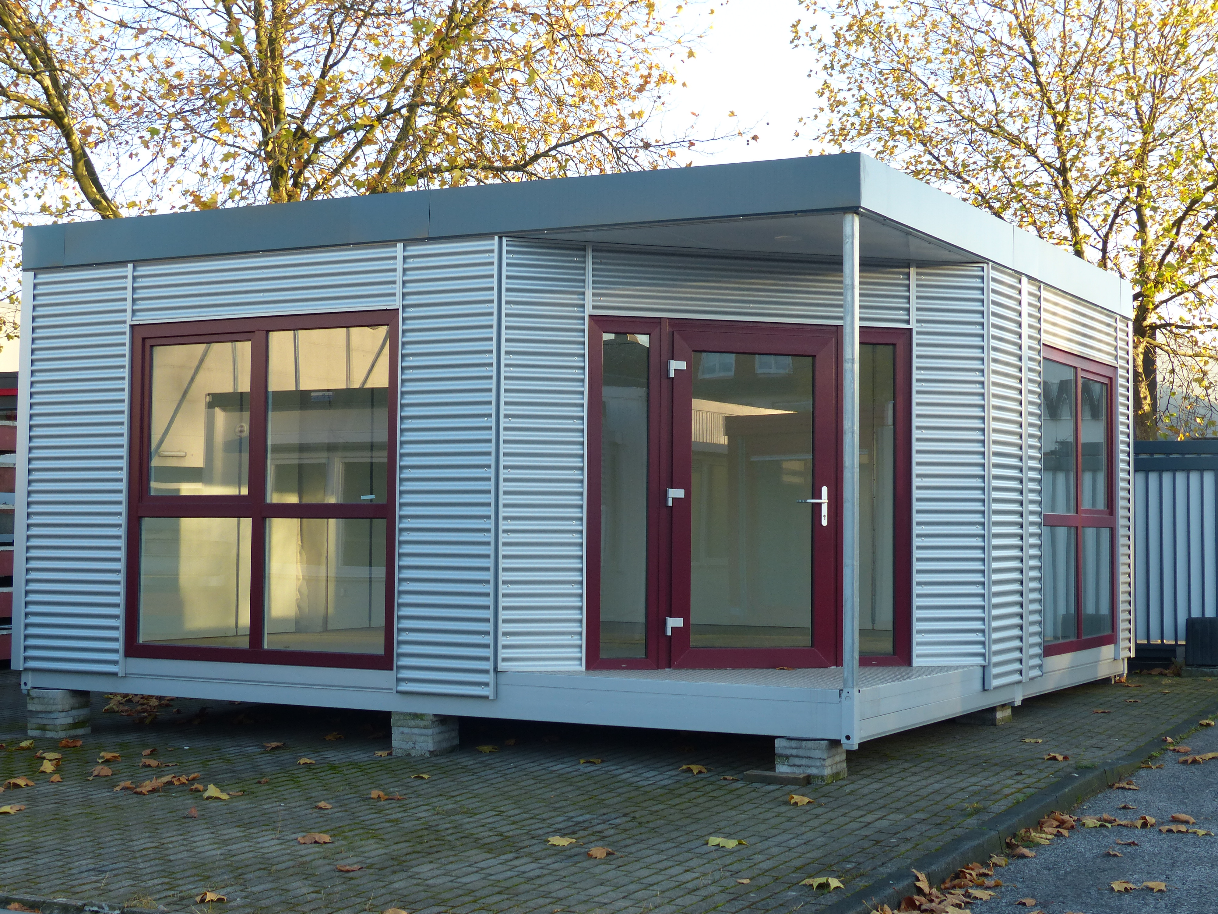 Container Haus Heizung Rsl Mobile Raumsysteme