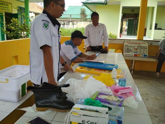 Prepare berbagai kelengkapan untuk sosialisasi oleh IPCN dan ketua K3RS