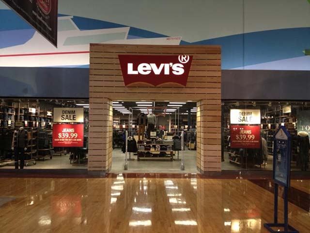 Levis Shop Levi's® Outlet Store Arundel Mills In Hanover, Md | Levi's ...