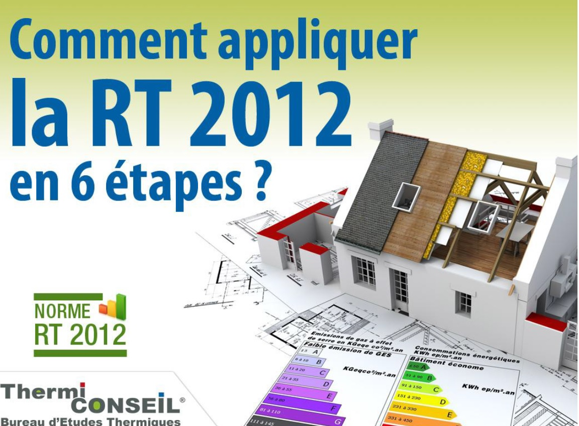 Etapes Construction Maison Rt 2012 Conformité Rt2012 Construction Maison Thermiconseil Rt2012