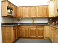 Oak Cathedral Arch Kitchen Cabinets - Kitchen Design Ideas