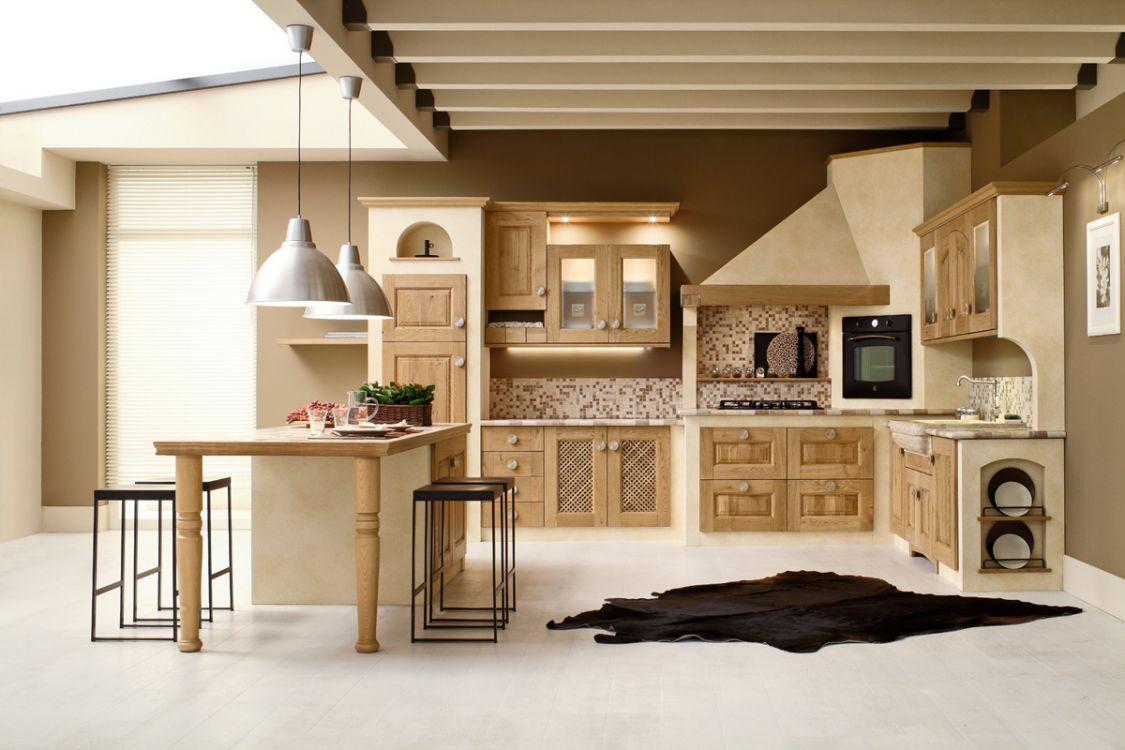 Cucina Ad Angolo In Muratura | Cucina In Muratura 70 Idee Per Cucine ...