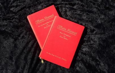 """Один из двух экземпляров """"Майн кампф"""", подписанных Адольфом Гитлером"""