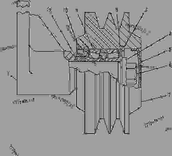 caterpillar engine diagram besides cat c13 engine problems on cat c13