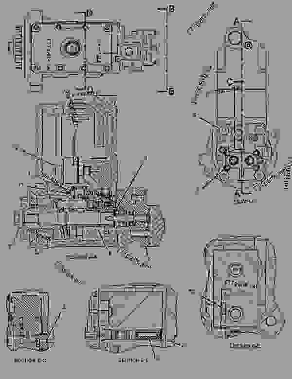 cat 40 pin wiring diagram