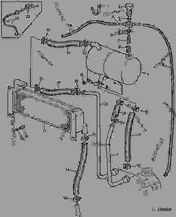 john deere electrical wiring diagram 2040