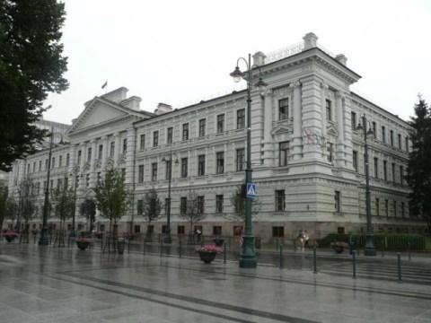 Бывшее здание КГБ в Вильнюсе