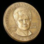 Медаль Цереры является высшей наградой Продовольственной и сельскохозяйственной организации ООН