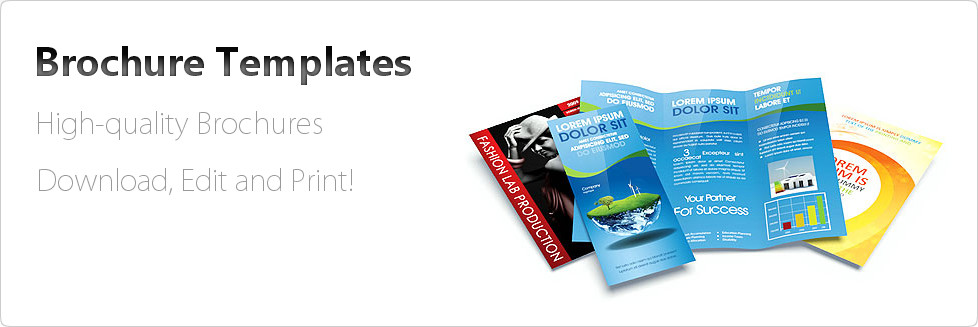Powerpoint Brochure Templates Gallery - template design free download