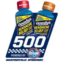 NSCS: Goody's Headache Relief Shot 500 at Martinsville Starting Lineup