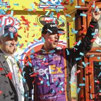 NSCS: Denny Hamlin Leads Joe Gibbs Racing Charge at Martinsville