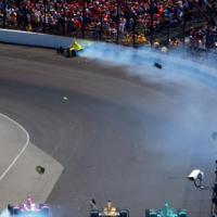 VICS: Sage Karam Knocked Out of Indy 500 on Lap 1