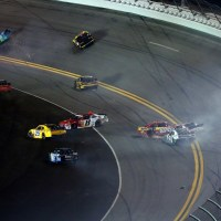 NXS: Big One Hits Twice In Closing Laps of Subway Firecracker 250