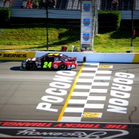 NSCS: Jeff Gordon Ends Final Pocono Start on High Note