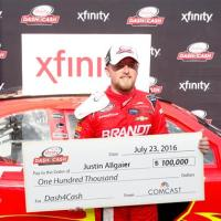 NXS: Justin Allgaier Earns First Career Dash 4 Cash Bonus