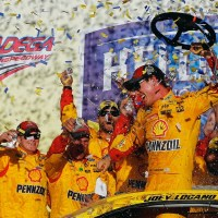 NSCS: Joey Logano Survives Talladega and Advances in The Chase