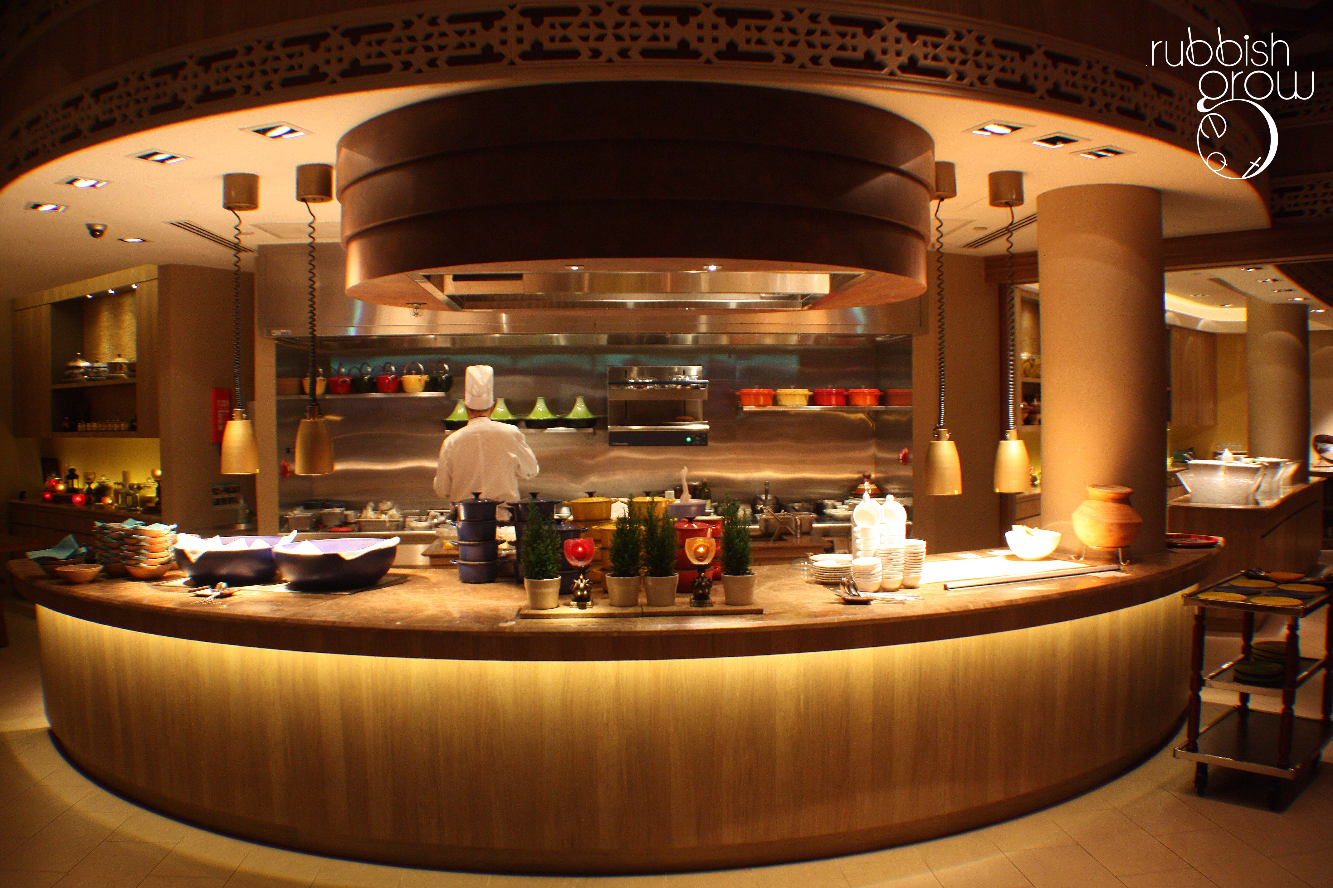 Modern Restaurant Kitchen Design Casserole Shangri Las Rasa Sentosa Resort Rubbish Eat