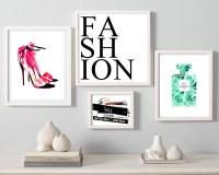 18 Best of Fashion Wall Art