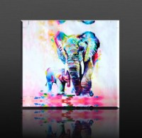 20 Best Collection of Elephant Canvas Wall Art
