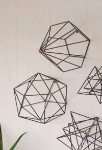 Geometric Metal Wall Art - Home Ideas