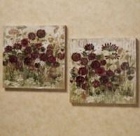 18 Photo of Burgundy Wall Art