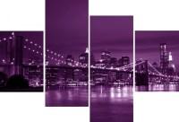 10 Ideas of Purple Wall Art Canvas