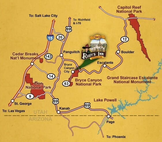 Zion Car Shuttle Bryce Canyon Maps Maps Of Bryce Canyon