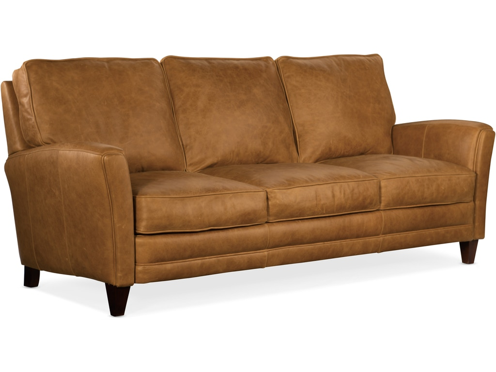 600 95 980004 83 Pl Bradington Young Leather Sofa Zion Rudd Furniture