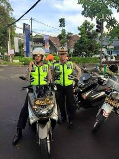 Jiah Pak Polisi Pakai Nmax Sebagai Kendaraan Dinas
