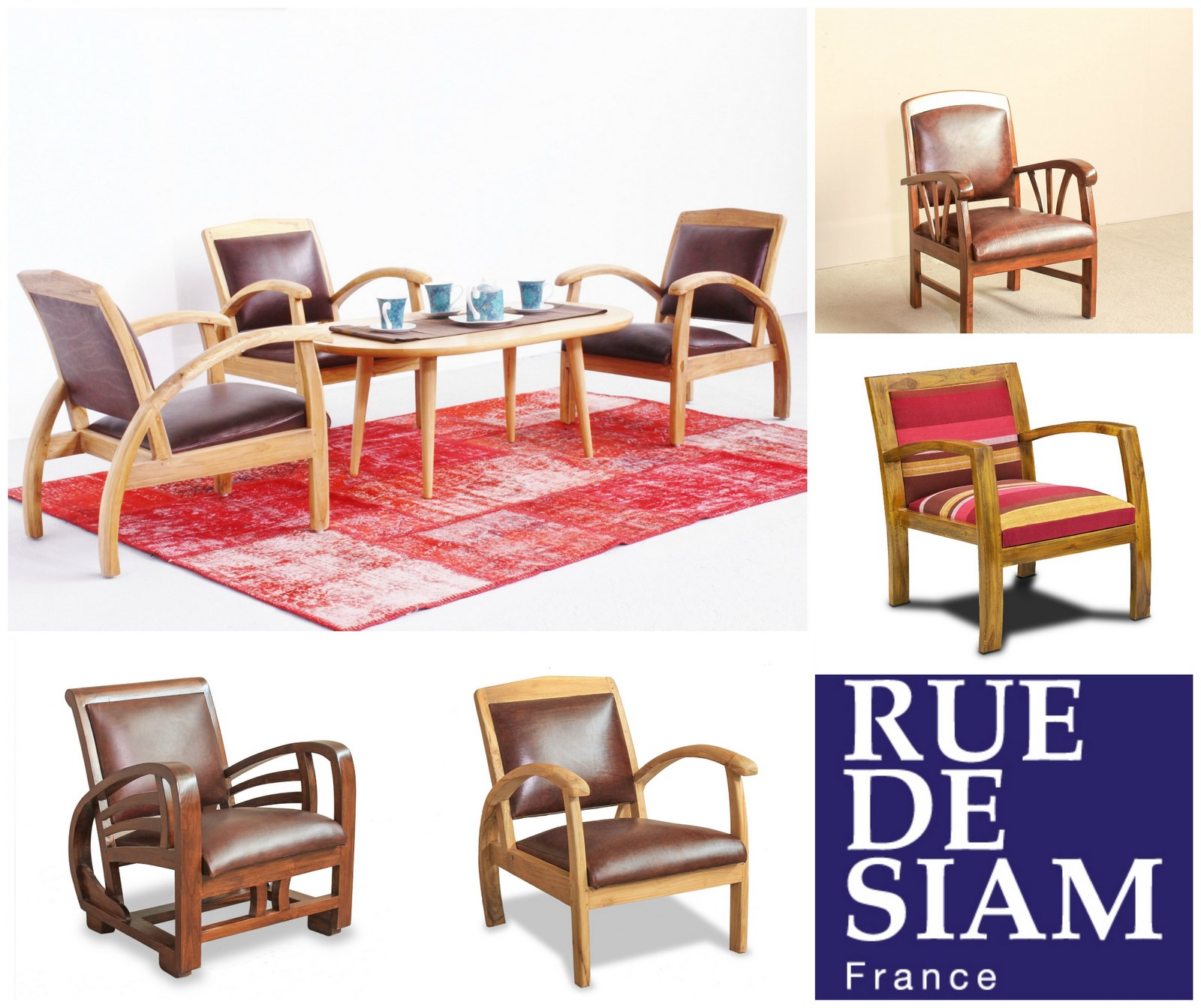 Nom Des Fauteuils Meubles De Style Retro La Collection Quotretro Colonial