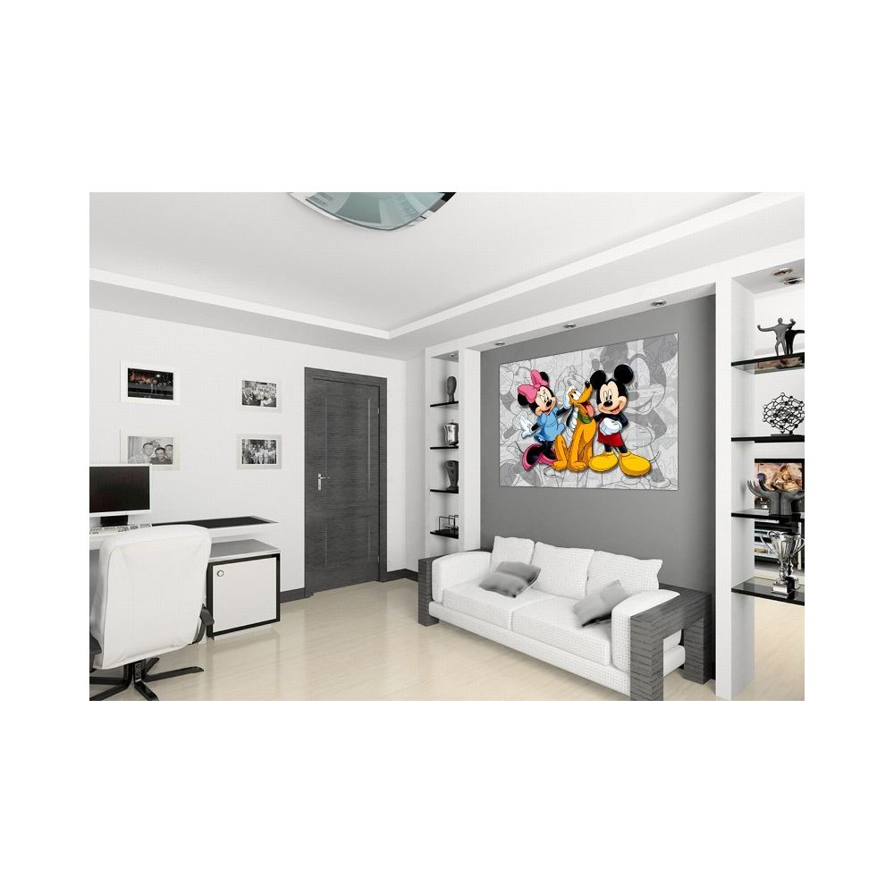 Bebe Gavroche Poster Xxl Mickey Minnie Mouse Disney 160x115 Cm Affiches Posters Rue Du Commerce