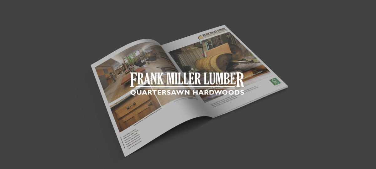 12-page sales brochure for lumber sawmill - ruef design