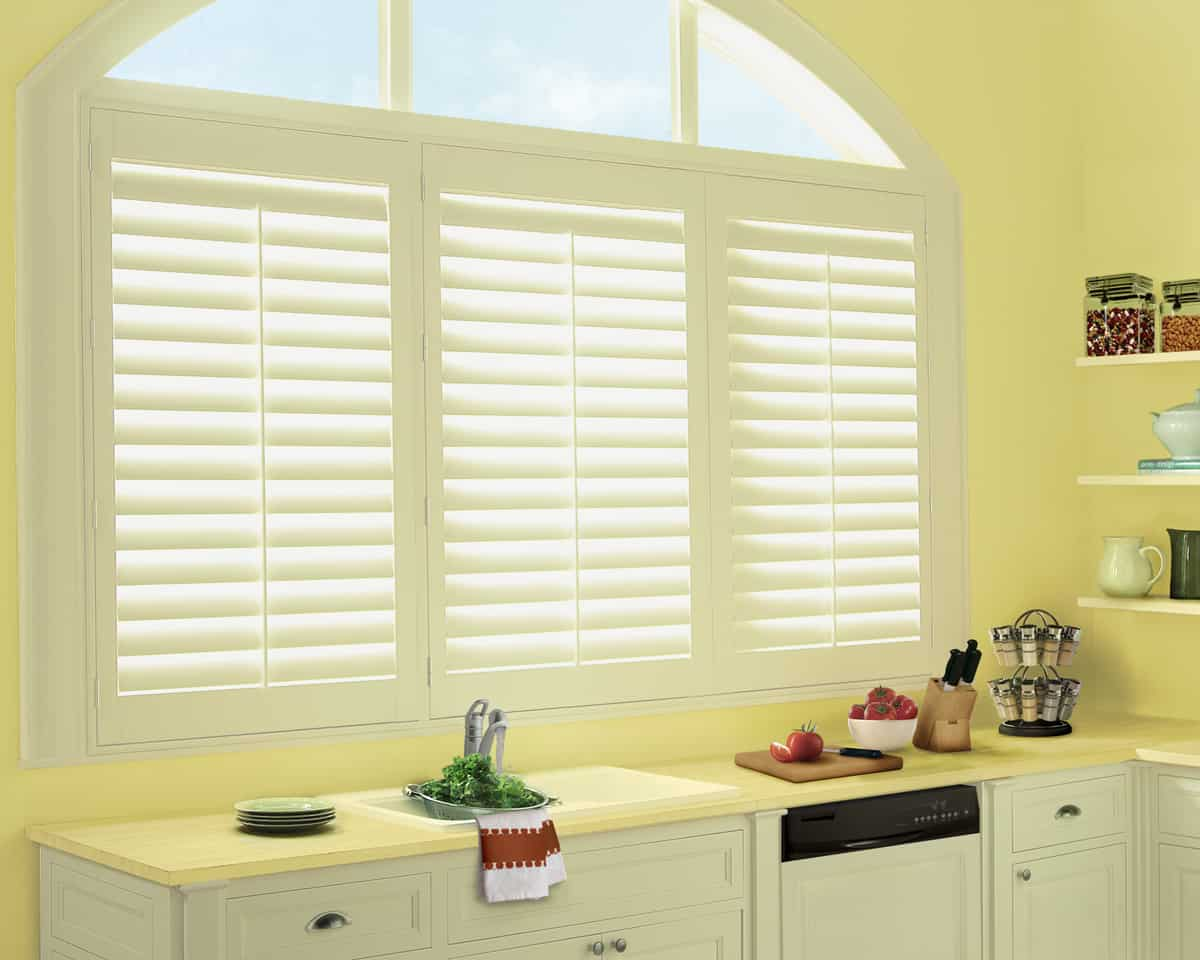 hunter douglas polysatin shutters