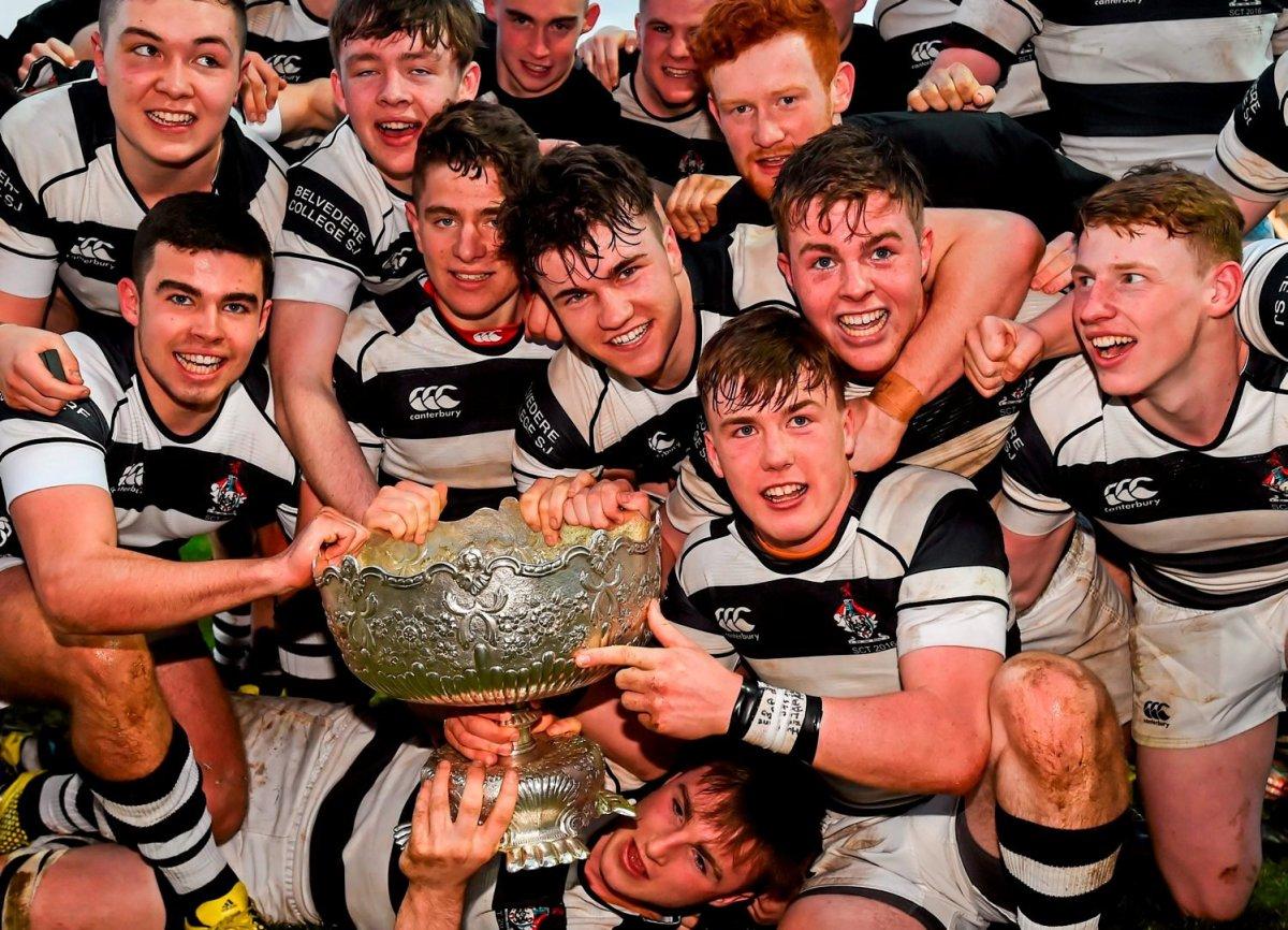 Cistercian College Roscrea v Belvedere College - Bank of Ireland Leinster Schools Senior Cup Final 2016