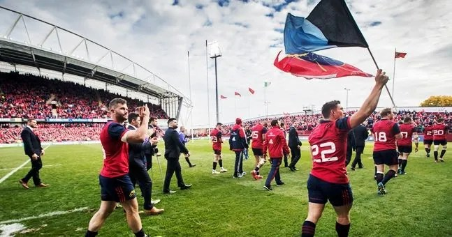 Watch: Munster Release Amazing Footage Of Fields Of Athenry From Glasgow Game