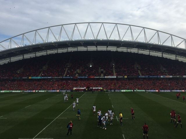 Watch: The Fields Of Athenry Rings Out In Special Thomond Park Moment