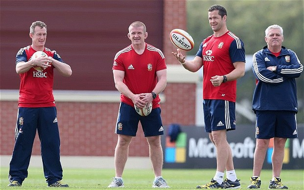 Warren Gatland's Lions Coaching Team Leaked Days Before Announcement