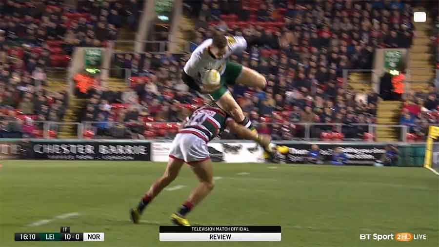 Watch: Worrying Scenes As George North Knocked Out Yet Again