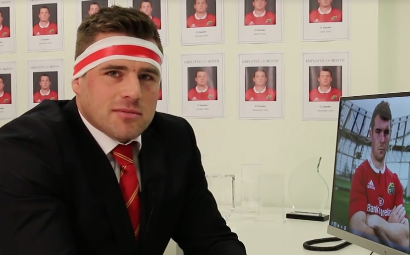 Watch: Introducing CJ Stander The Car Salesman