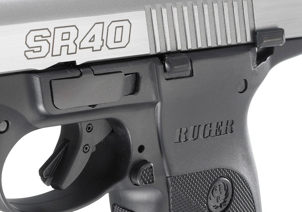 Ruger® SR40® * Centerfire Pistol Models